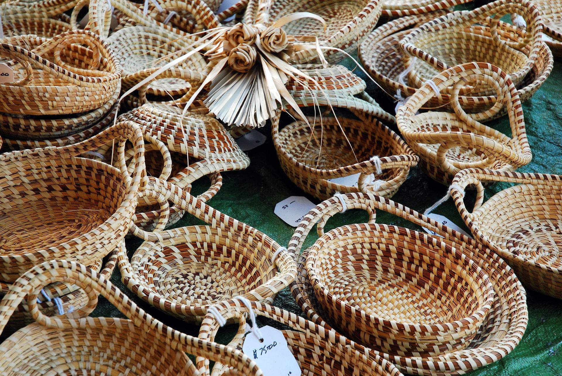 Charleston Fine Homes Sweetgrass Baskets